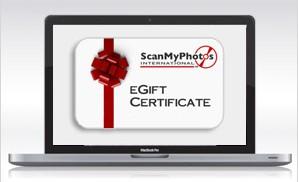 ScanMyPhotos.com eGiftCertificate