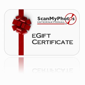 eGiftCertificate - Holiday e-Gift Certificates from ScanMyPhotos.com