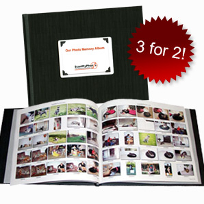 photoIndexBook - Pay-Per-Scan Photo Scan Recommended Add-On Services