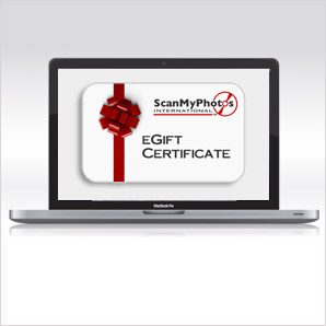 eGiftCertificate - You asked, We Answered: Holiday Gift Ideas from ScanMyPhotos.com