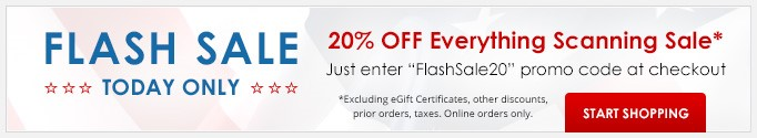 flash banner big NEW - Your Photo Scanning FLASH SALE