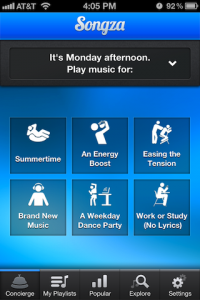Songza-Concierge