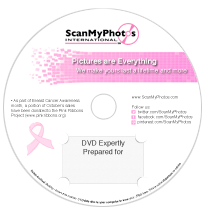 ScanMyPhotos goes pink for Breast Cancer Awareness month