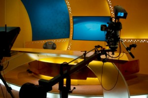 Television production studio