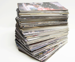 Stack of photos, bulk scanning