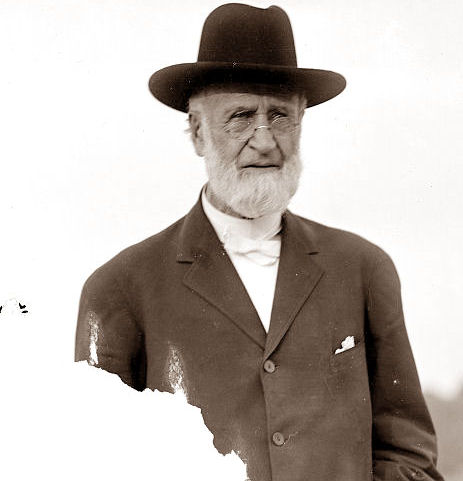 Milton Wright (1828 - 1917) was the father of aviation pioneers Wilbur Wright and Orville Wright, and a Bishop of the Church of the United Brethren in Christ