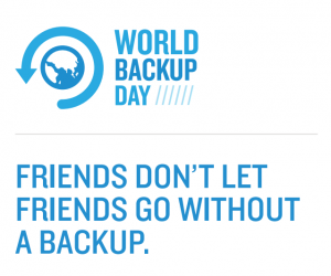 This page is not officially supported or endorsed by World Backup Day. For more information, visit worldbackupday.com.