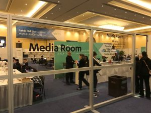 Click to watch the nucleus of CES, the media center
