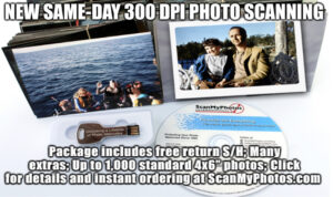 scanningpackage 300x178 - Same-Day* Photo Scanning Package at 300 dpi Now $162