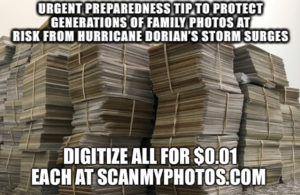 IMG 1689 300x195 - Cat 5 Hurricane Dorian Will Destroy Millions of Photographs, What to Do?