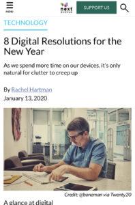 IMG 2070 198x300 - Next Avenue Shares Organizing Your Digital Life Tips