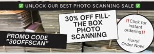 Save 30% on Photo Scanning at ScanMyPhotos.com