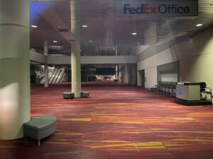 Inside an empty LVCC during #CES2021