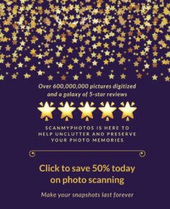 Save 50% on photo scanning