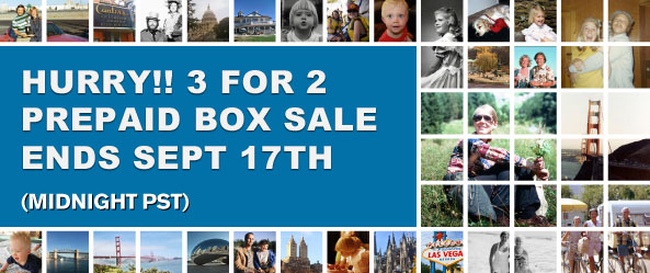 main image - Super Photo Scanning Deal Ends Soon. FREE Photo Scanning Box