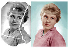 Photo Restoration Sample