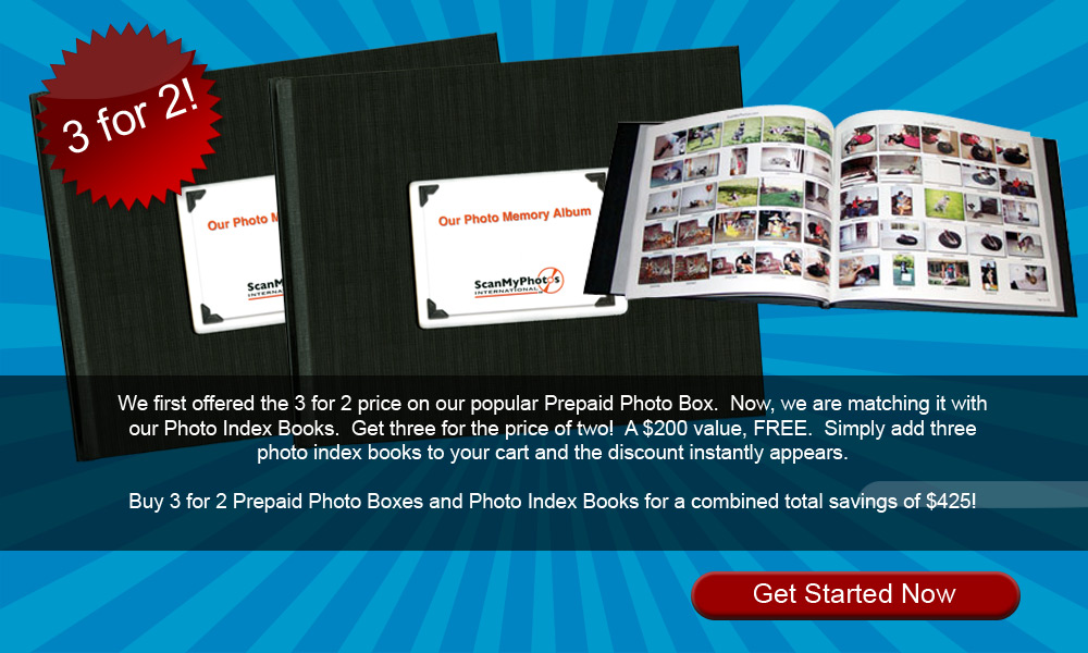 3for2photobook - 3 for 2 Custom Photo Index Albums From Your Scanned Photos